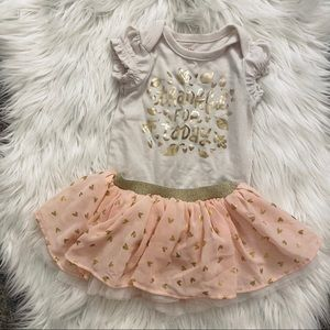 3-6M Girls Thanksgiving Outfit